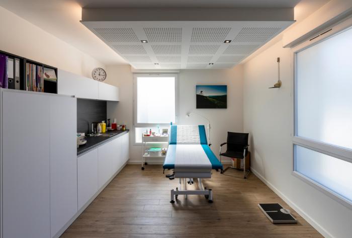 domaine médical création et aménagement de cabinets médicaux près de lyon par Architéa 69 Lyon Ouest