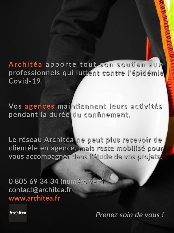 Architéa réalise vos projets de rénovation pendant le confinement | architéa, covid, travaux, rénovation