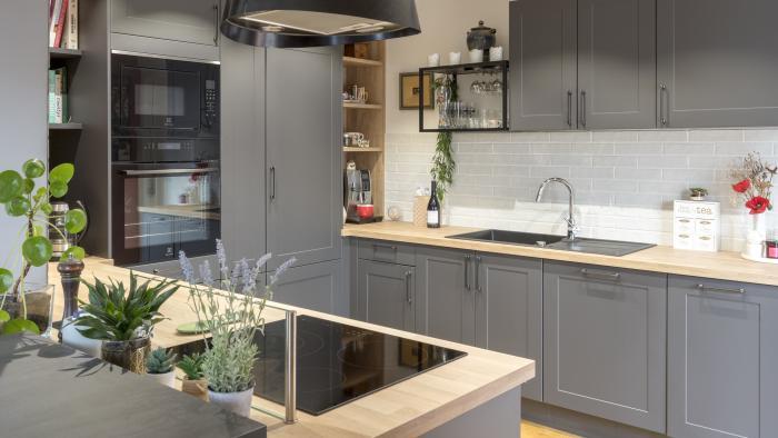 cuisine réalisation d'une cuisine à dardilly (69) par Architéa 69 Lyon Ouest