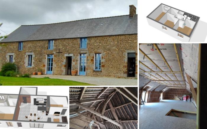 Architéa Mayenne | Plusieurs chantiers en cours | amenagement, renovation, architecture, habitat, appartement, chambre, cuisine, agencement, mayenne