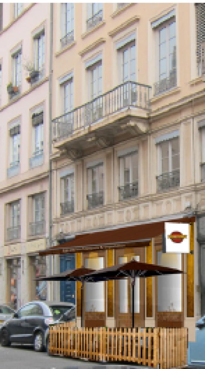 chr création du terrasse amovible à saint-etienne par Architéa 42 Loire St Etienne