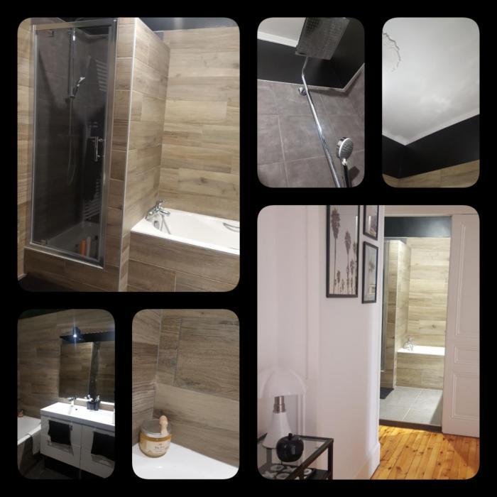 rénovation rénovation d'une salle de bain à saint-etienne par Architéa 42 Loire St Etienne