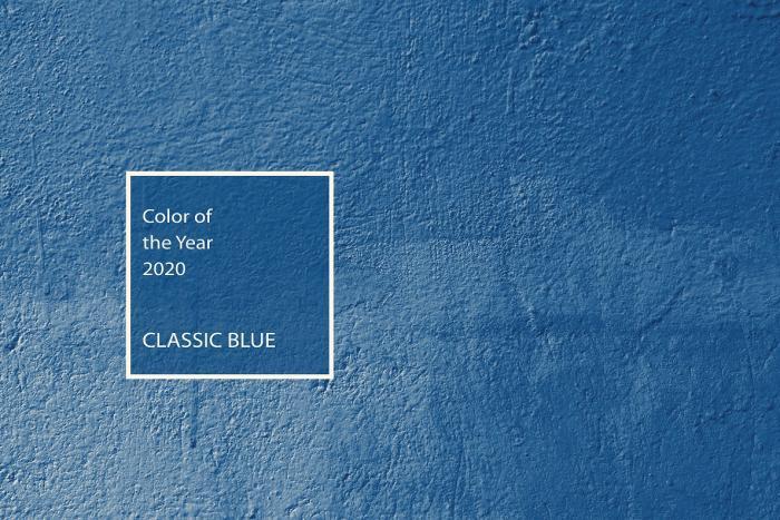 Architéa - Pantone dévoile la couleur de l'année 2020   ColorOfTheYear,Couleur2020,Pantone,ClassicBlue,Design,Tendance2020,Bleu, Architéa bleu, rénovation