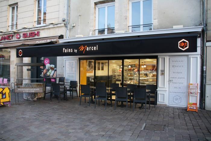 métiers de bouche rénovation boulangerie à caen par Architéa 14 Calvados