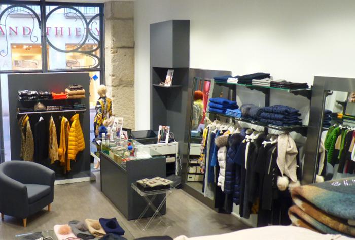 commerce aménagement magasins prêt à porter à saint-etienne par Architéa 42 Loire St Etienne