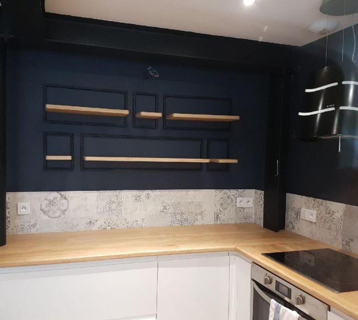 cuisine cuisine complète dans maison d'habitation à caen par Architéa 14 Calvados