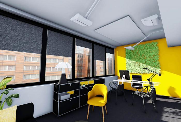 tertiaire etude en cours de rénovation de bureaux par Architéa 69 Lyon Ouest