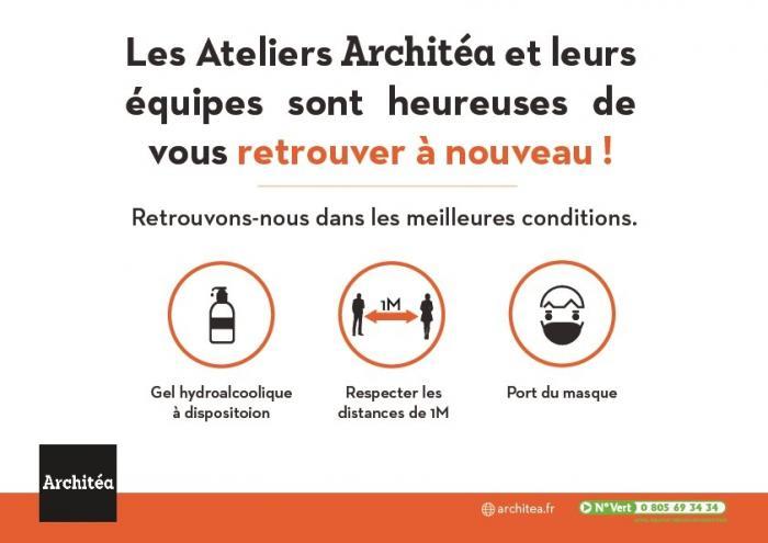 Les Ateliers Architéa ouvrent de nouveau les Ateliers au public | architea, projet rénovation, travaux rénovation , accueil client, architecture intérieure