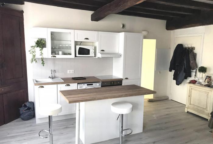 cuisine rénovation d'une cuisine dans la pays basque par Architéa 64 Pyrénées-Atlantiques