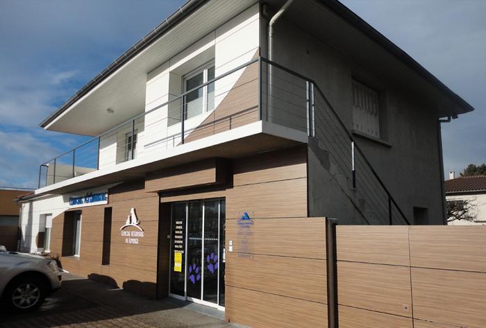 vétérinaire rénovation d'un cabinet vétérinaire à chassieu par Architéa 69 Lyon Ouest