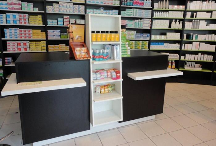 pharmacie agencement d'une officine à saint-foy-lès-lyon par Architéa 69 Lyon Ouest