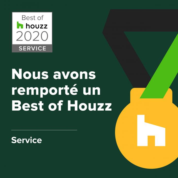 distinction et lauréat Best of HOUZZ 2020 | HOUZZ, service
