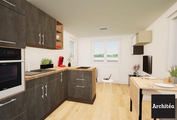 rénovation etude d'aménagement intérieur près de lyon par Architéa 69 Lyon Est