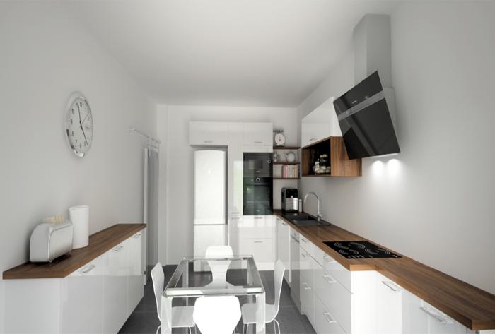 rénovation etude de la rénovation complète d'un appartement par Architéa 69 Lyon Ouest