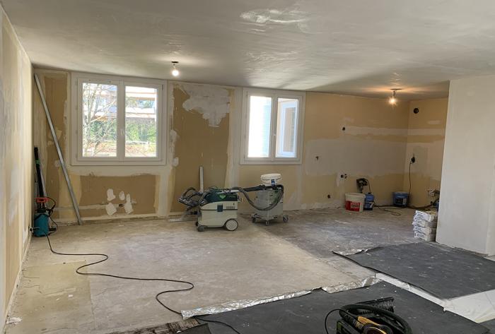 Démarrage d'une rénovation d'appartement à Lyon | amenagement, renovation, architecture, habitat, appartement, chambre, cuisine, agencement