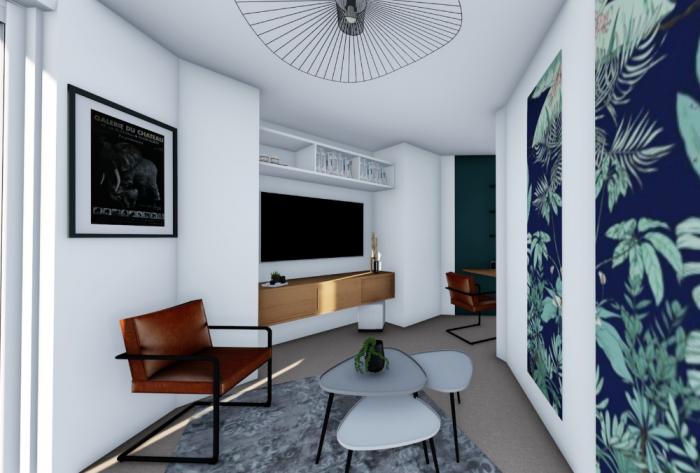 rénovation rénovation complète d'un appartement en mayenne par Architéa 53 Mayenne