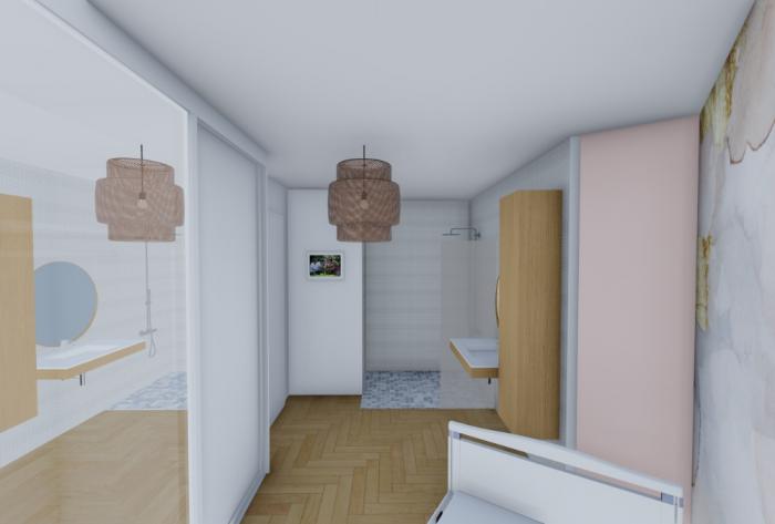 rénovation rénovation d'un appartement en haute-savoie par Architéa 74 Haute-Savoie