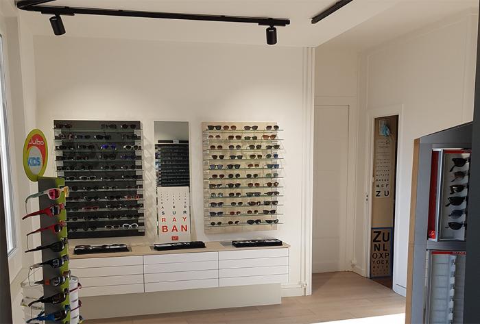 Architéa Lyon-Ouest | Rénovation d'un magasin d'optique | rénovation, aménagement, intérieur, optique, magasin, opticien, lyon, architecture