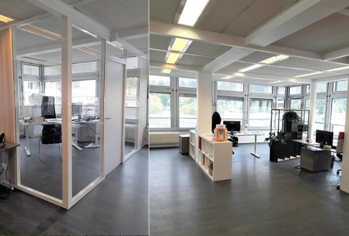 tertiaire aménagement de bureaux / agence par Architéa 42 Loire St Etienne