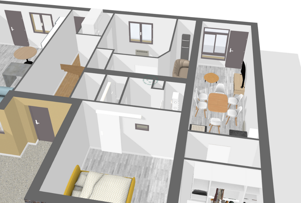 Rénovation complète d'un appartement en Mayenne