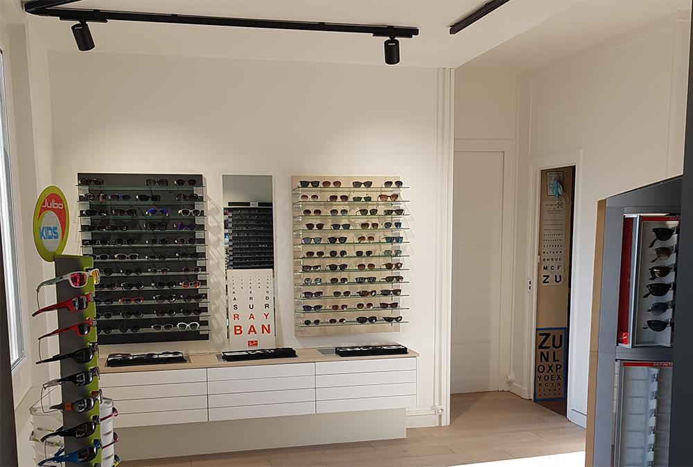 Rénovation magasin optique Lyon