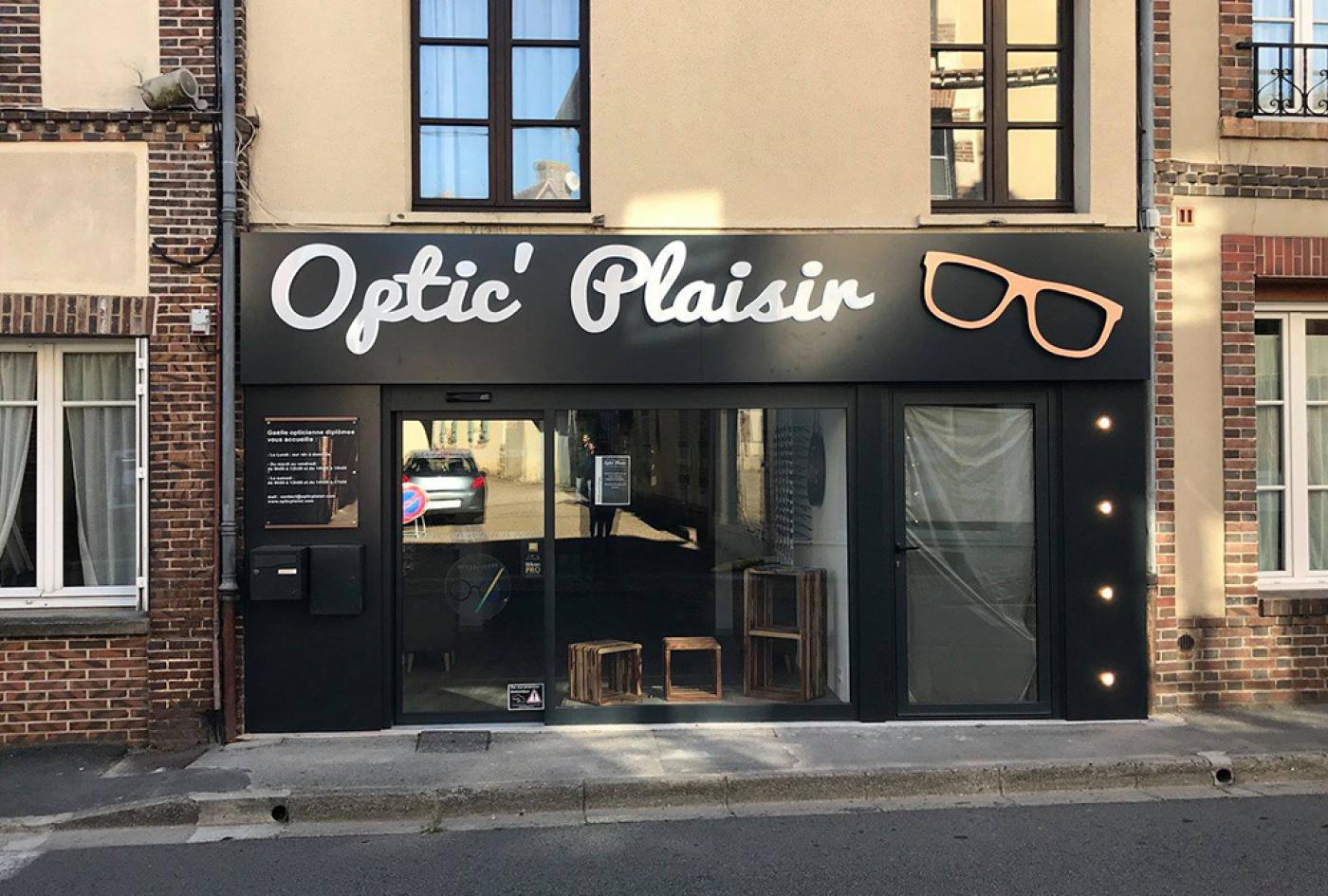 aménagement opticien Caen