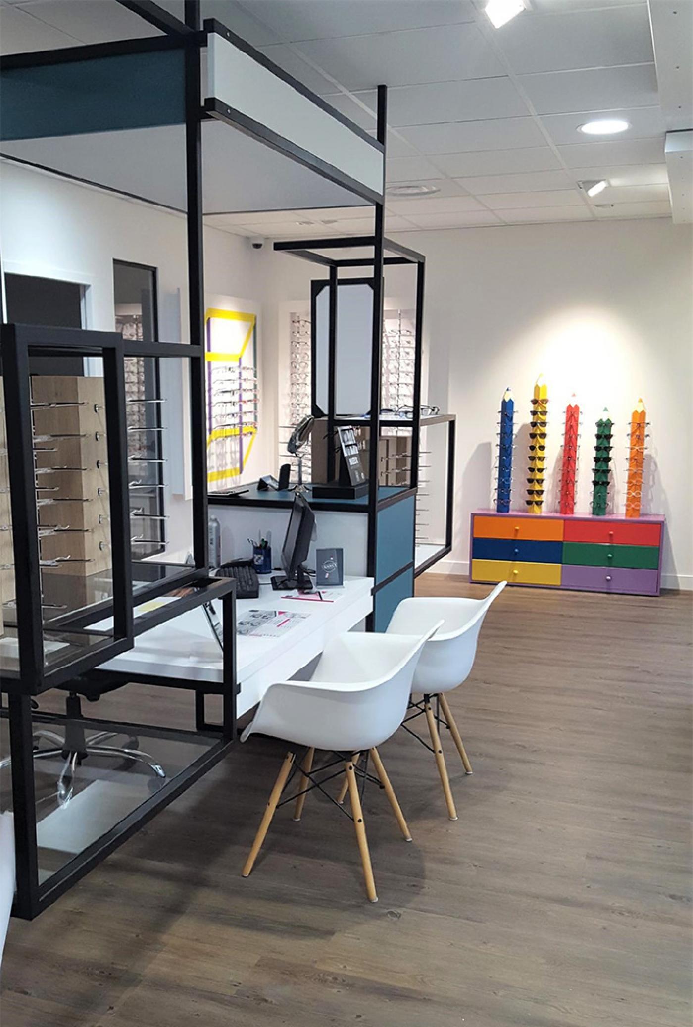 conception magasin optique rhône Alpes