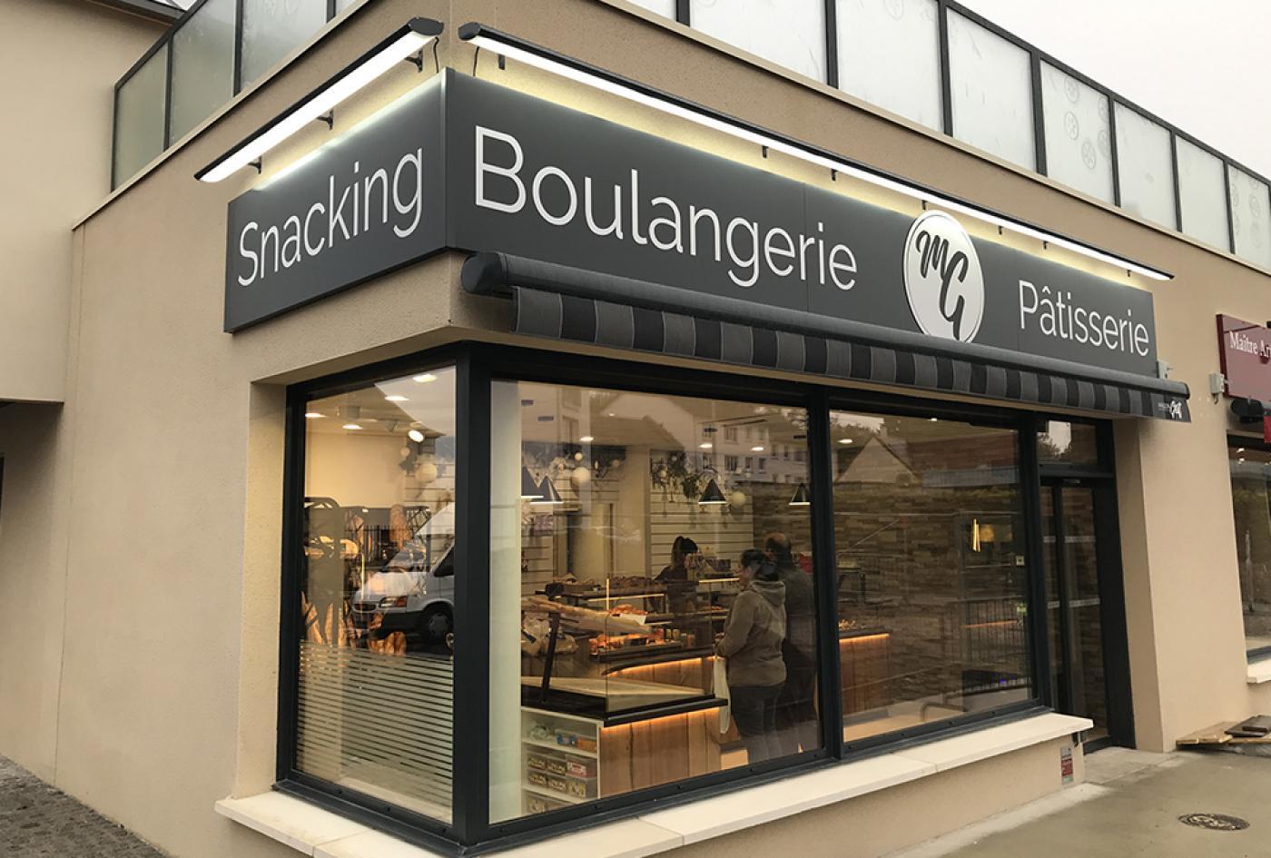 rénovation boulangerie Caen