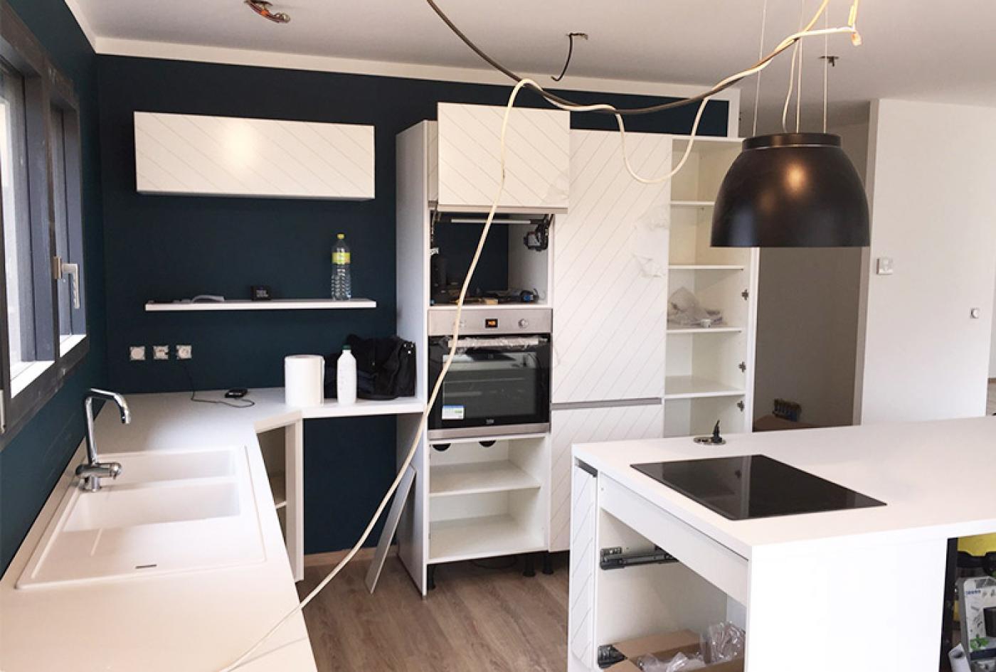 création d'une cuisine à lyon