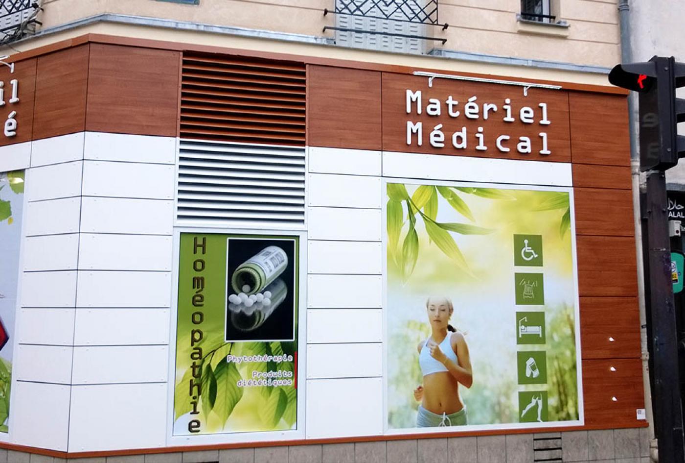 devanture pharmacie
