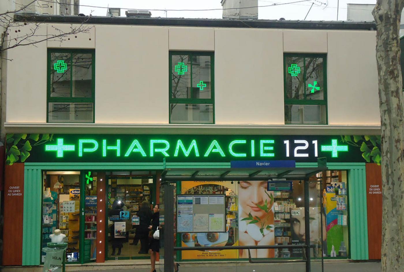 renovation pharmacie