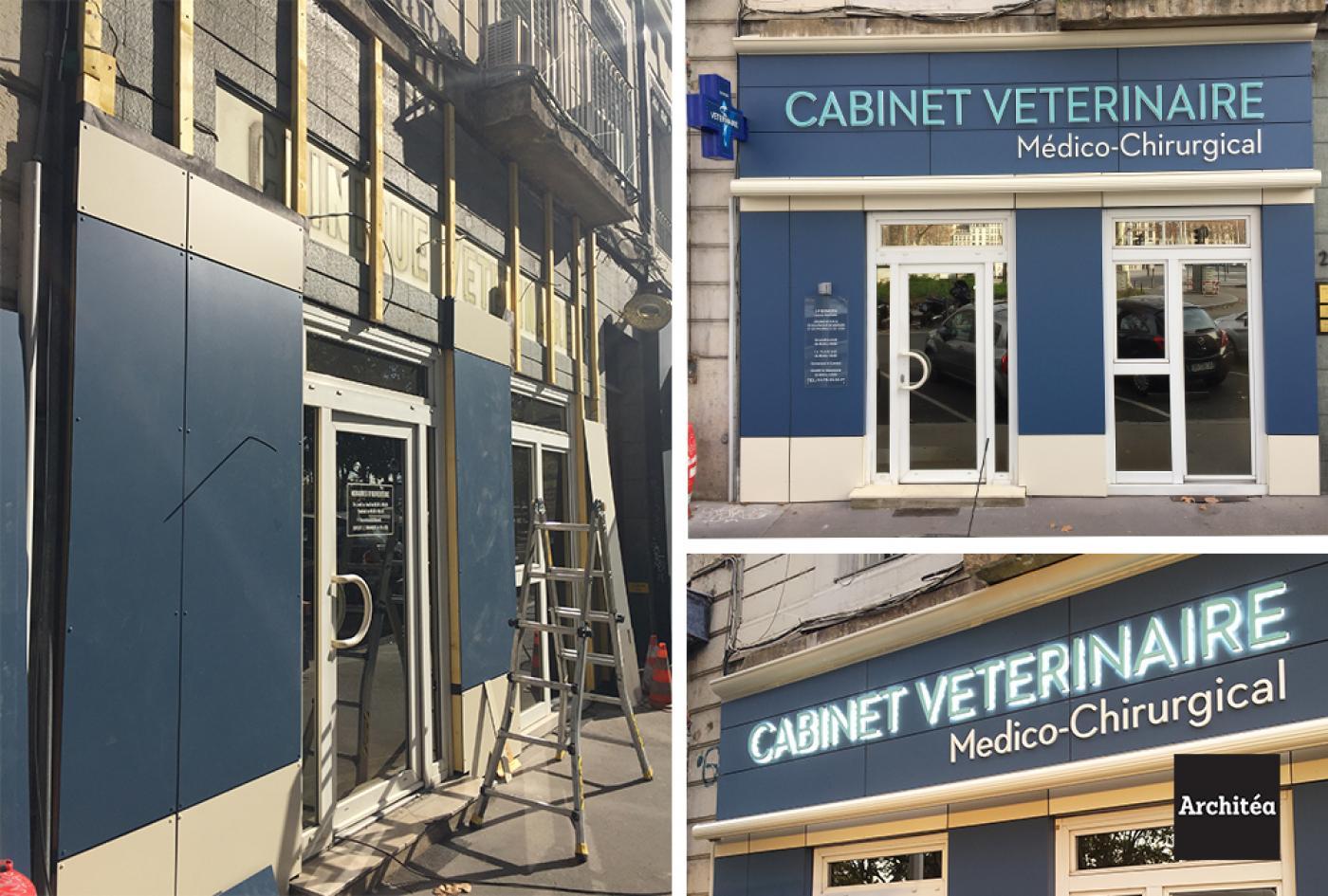 rénovation cabinet vétérinaire lyon
