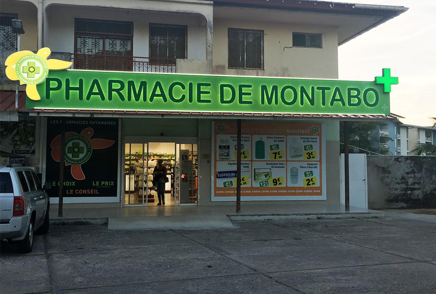 rénovation pharmacie Guyane