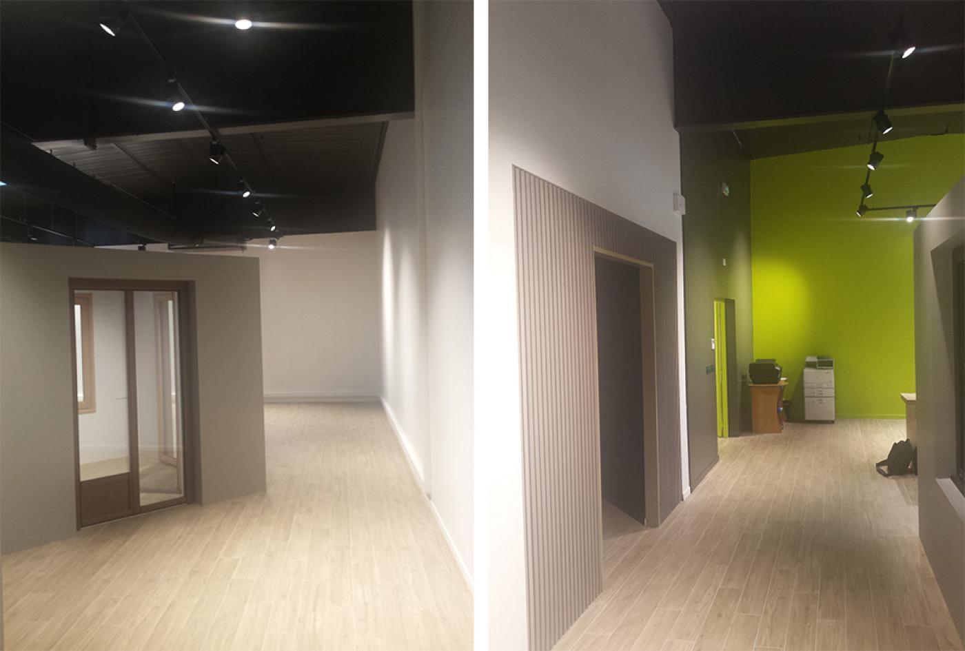 renovation intérieur de commerce