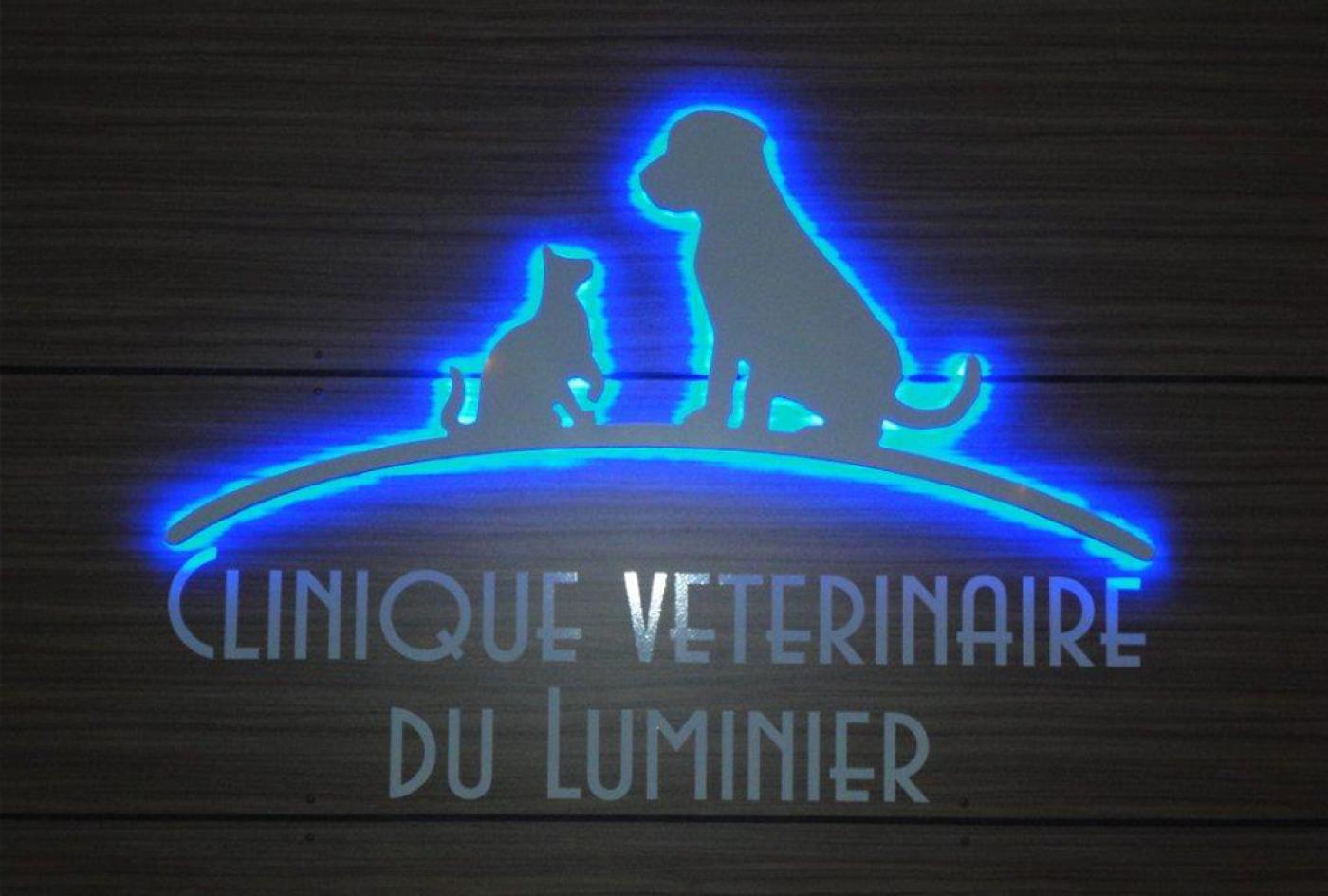 enseigne lumineuse vétérinaire