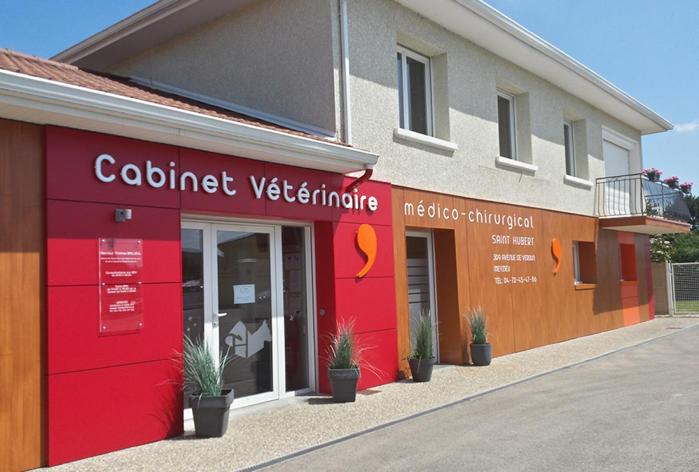 travaux façade clinique veterinaire