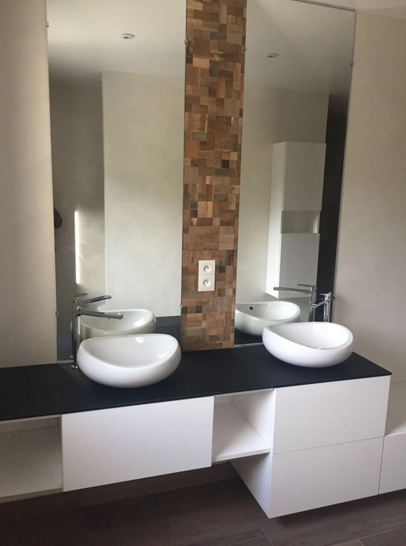 Meuble sur mesure salle de bain caen