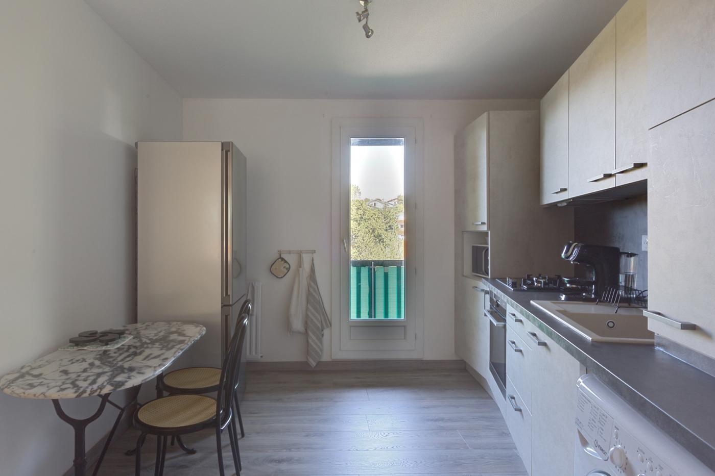 Rénovation cuisine appartement pays basque