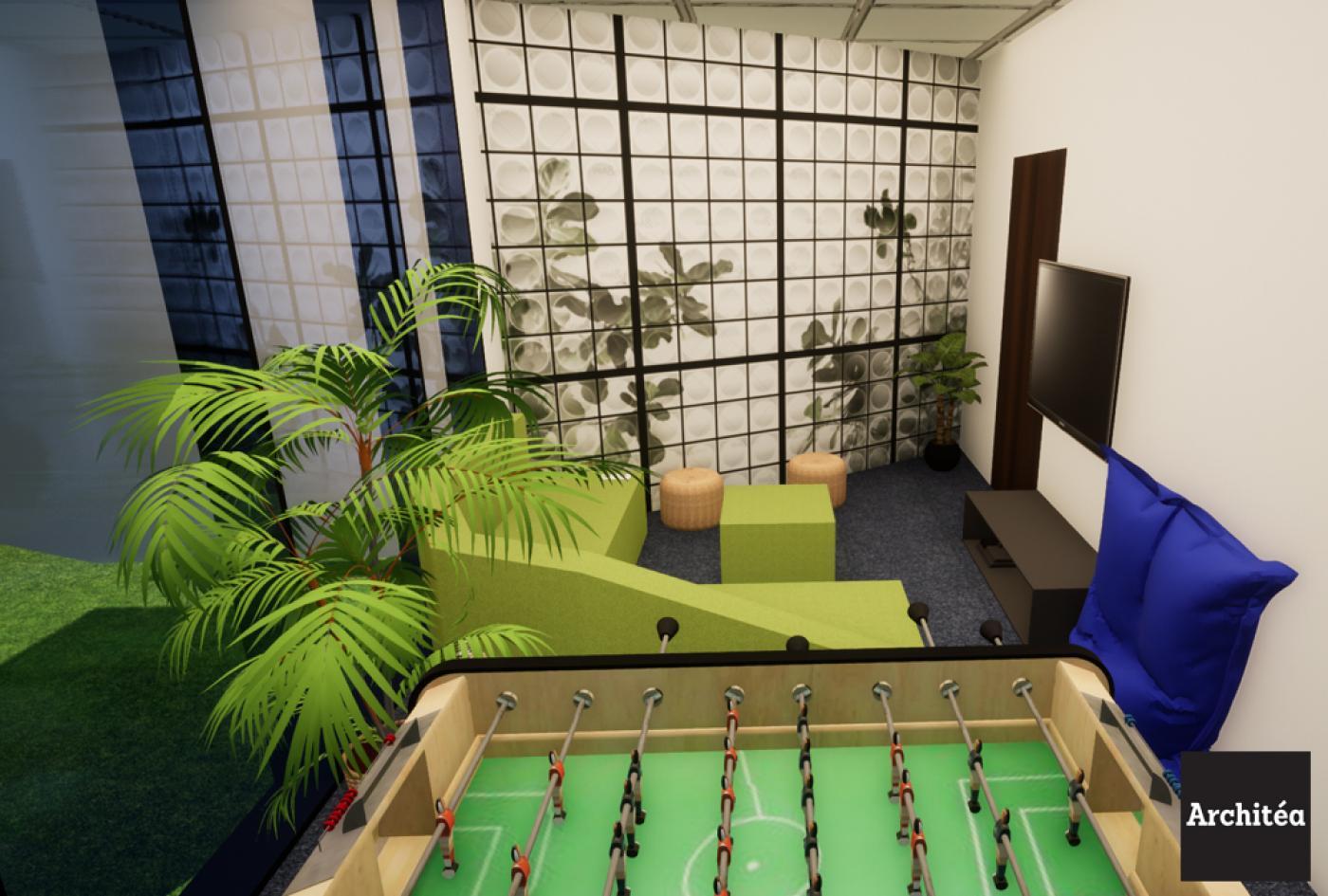 Salle détente bureaux