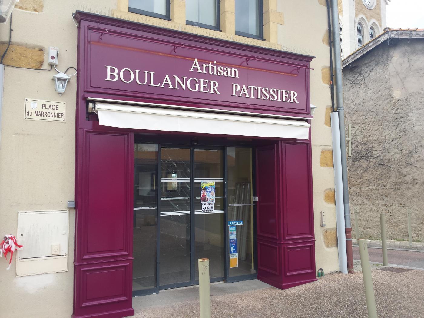 rénovation Boulangerie Éveux Façade