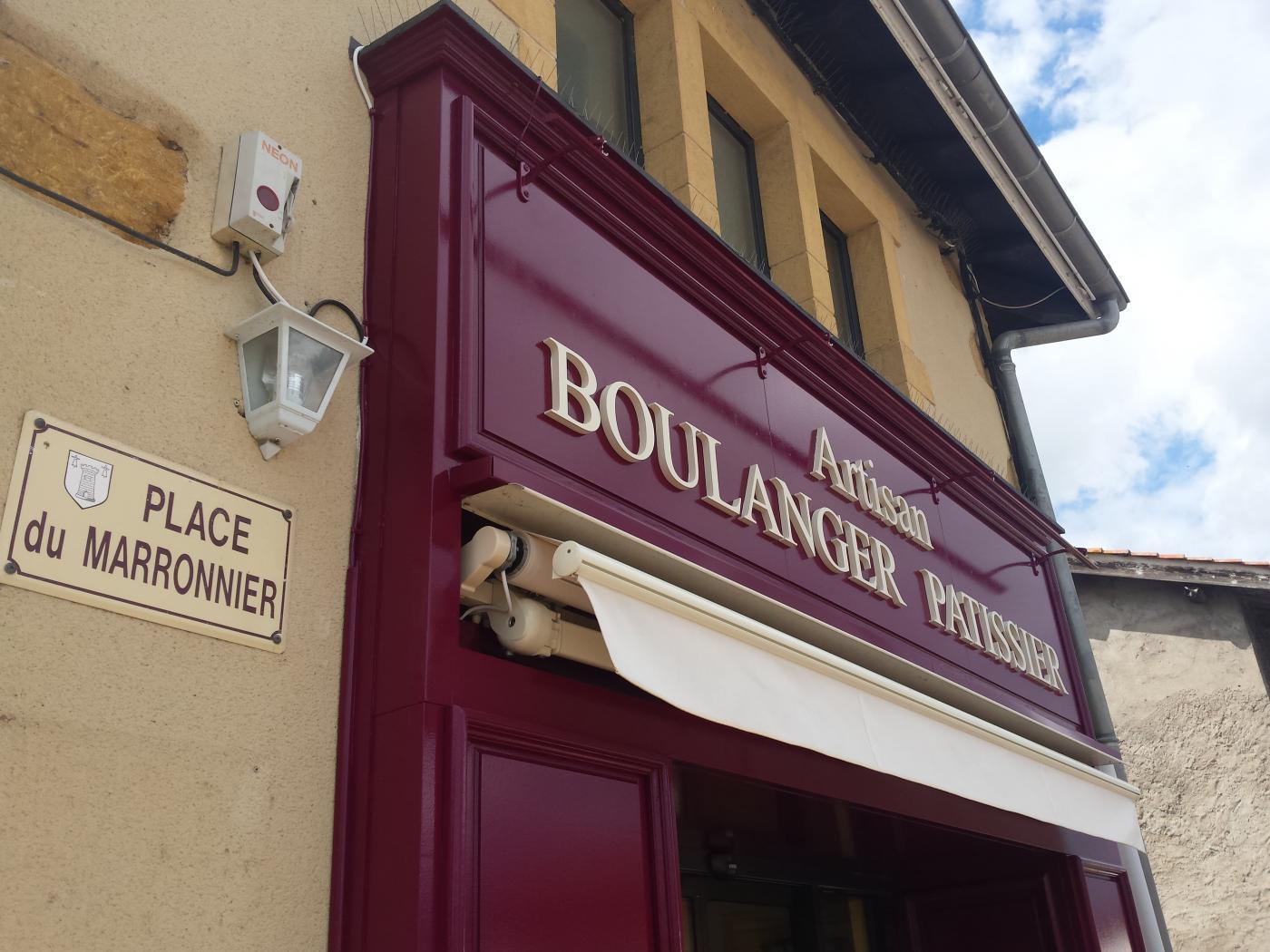renovation Boulangerie Éveux Façade