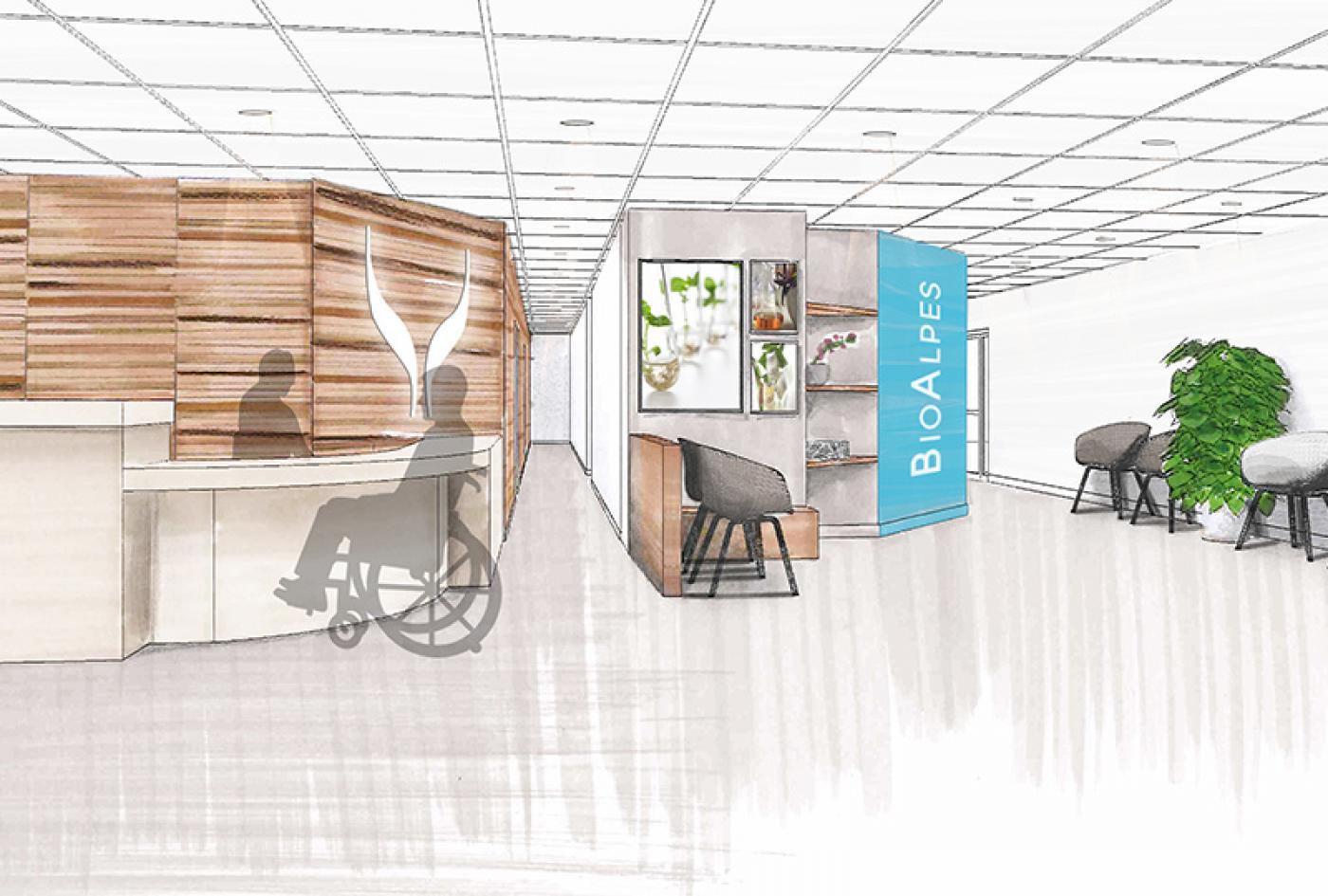 rénovation laboratoire médical clé en main rhone Lyon