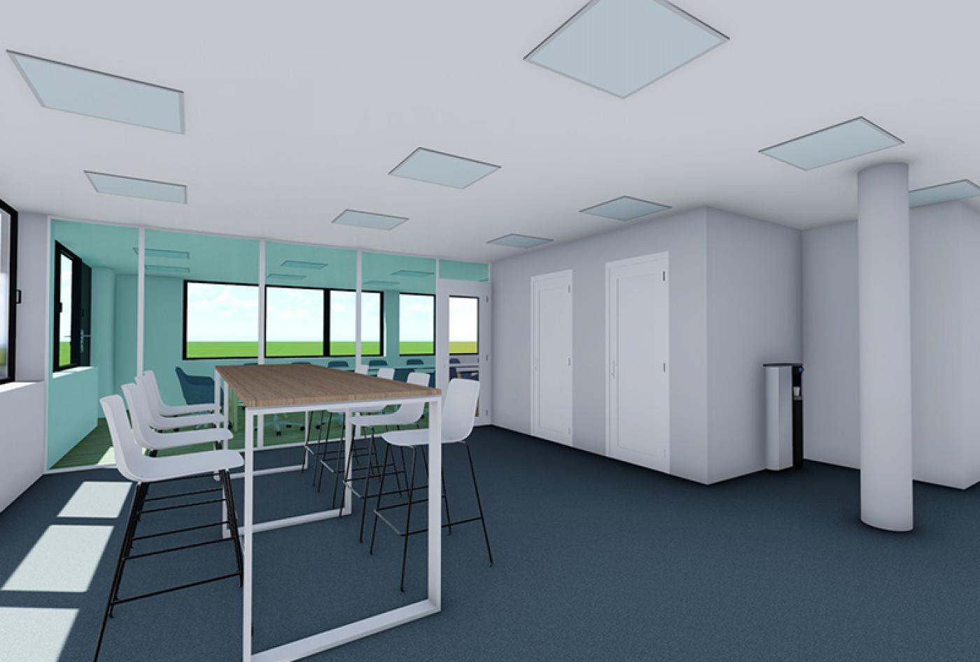 rénovation bureau et salle de réunion lyon